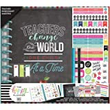Me & My Big Ideas Happy Memory Keeping 12-Month Dated Planner Box Kit-Teachers Change The World