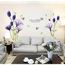 Suchergebnis auf f r wandtattoo blumen lila - Wandtattoo lila ...