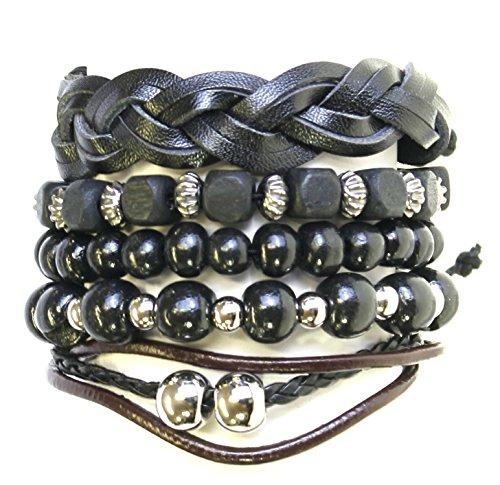 serie-di-bracciali-di-perline-di-legno-5-cord-cuoio-stile-surf-surfer-braccialetti-181