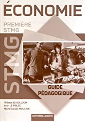 Guide pedagogique éco 1re stmg