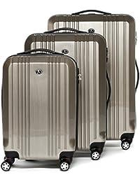 FERGÉ Dreier Kofferset mit TSA Zahlenschloss CANNES