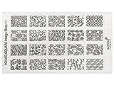 KONAD Stamping Schablone XL 11