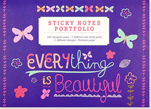 Everything Is Beautiful Sticky Notes Portfolio