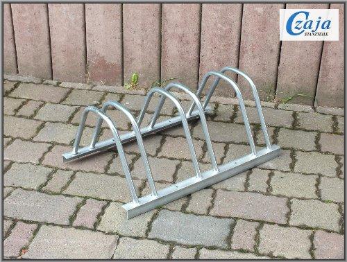 Czaja Stanzteile Fahrradständer für 3 Fahrräder -