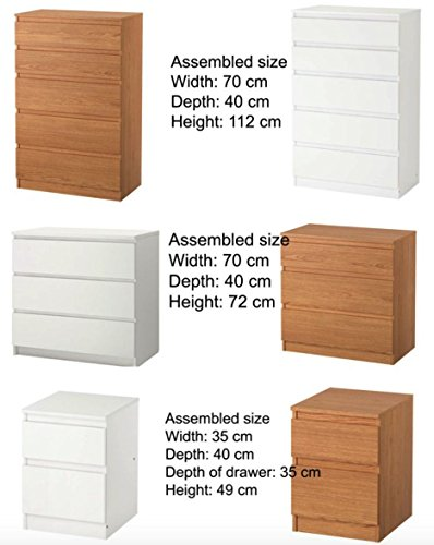 ikea kullen drawer set chest of drawers bedroom furniture. Black Bedroom Furniture Sets. Home Design Ideas