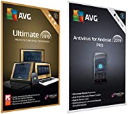 AVG Ultimate (Unlimited Devices   1 Year) + AVG Antivirus for Android - Pro (1 Device   1 Year)