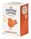 Higher Living - Tisana Biologica con Caffè Verde, Cacao e Ginseng- 15 Filtri in Cotone non Sbiancato - Delizioso Shop - amazon.it