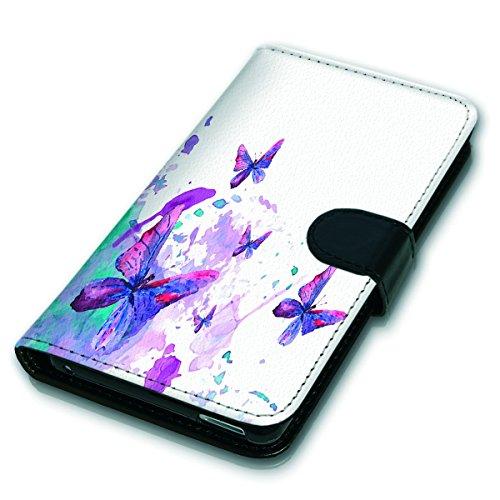 Wallet Book Style Flip Handy Tasche Case Schutz Hülle Schale Motiv Etui für Apple iPhone 6 Plus / 6S Plus - Variante UMV14 Design12 Design 1
