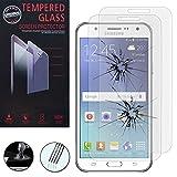 VComp-Shop® 2x Hochwertige gehärtete Panzerglasfolie für Samsung Galaxy J5 SM-J500F - TRANSPARENT