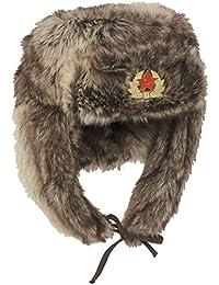 "russ.Wintermütze ""Shapka"" braun"