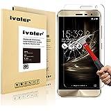 Asus Zenfone 3 ZE552KL 5.5'' Protector de Pantalla, iVoler® Protector de Pantalla de Vidrio Templado Cristal Protector para Asus Zenfone 3 ZE552KL 5.5'' - Dureza de Grado 9H, Espesor 0,20 mm, 2.5D Round Edge-[Ultra-trasparente] [Anti-golpe] [Ajuste Perfecto] [No hay Burbujas]- Garantía Incondicional de 18 Meses
