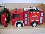 Wenyi RC Feuerwehrauto ferngesteuertes Spielzeug Feuerwehr Auto Ferngesteuert NEU