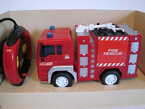 Wenyi RC Feuerwehrauto ferngesteuertes Spielzeug Feuerwehr Auto Ferngesteuert NEU*