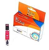 TS-Print Cartouche d'encre pour Canon CLI-571-XL 12ml Rouge Magenta