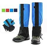Snow Legging Gamaschen, G-Hawk® Velcro Wasserdichte Gamaschen, für Wandern, Skifahren, Wandern, Trimmen Gras - Blau