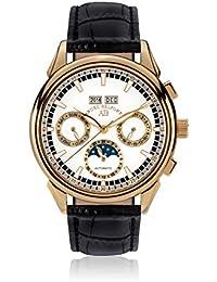 André Belfort 410216 - Reloj para hombres, correa de cuero