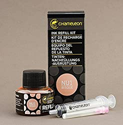 Chameleon Ink Refill 25ml Bisque - NU1