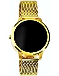 Smart reloj de pulsera, salud, compatible con para Android Sony LG Huawei ZTE Oppo Xiaomi, comando de voz coche para natación cara redonda compatible con iOS fitness salud pulsera