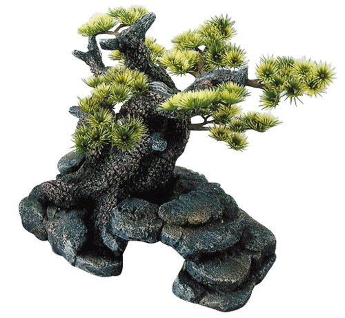 Europet Bernina 234-105320 Decor-Stein \'Bonsai\' ML 26 x 17.5 x 24 cm