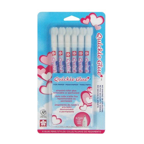 Sakura Quickie Glue Kugelschreiber 6 pro Packung, 85 ml (Quickie Glue Pen)