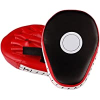 RingSun 1 par patas de oso boxeo, Focus Pads, Strike Pads, Paos de Boxeo Thai Kick Boxing Artes Marciales Patada Pad Entrenamiento