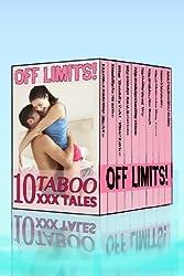 Off Limits: Boxed Set of Ten Taboo XXX Tales
