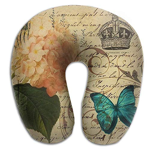 Airplanes rongxincailiaoke maternité et Corps Modern Art Bear U Shaped Travel Neck Pillow Portable Head Neck Rest Memory Foam Pillows for Office Napping Car Decor Oreillers Camping