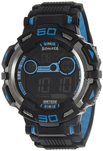 51lrfn9T1LL - Sonata 77009PP02J Mens watch