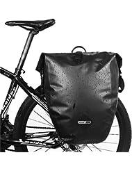 Bolso Trasero Impermeable de Portaequipaje Bicicleta Alforjas de Ciclismo Bicicleta Montaña Mountain Bike Camino de Santiago