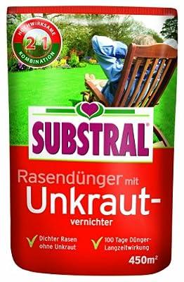 Substral Rasendünger mit Unkrautvernichter f. 450 m² - 9 kg von Substral auf Du und dein Garten