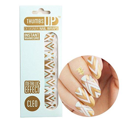 ThumbsUp Nails - Cleo Metallic Nagelfolien 20 Folien / Packung