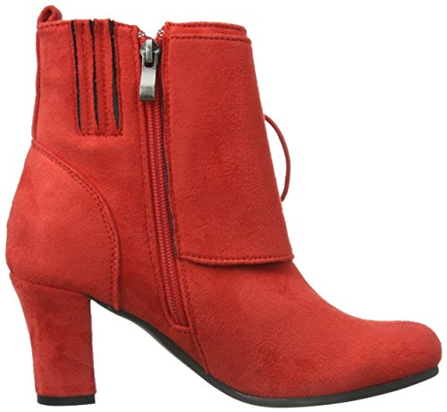 Andrea Conti 3612711, Bottes Classiques femme Rouge - Rot (Rot 021)