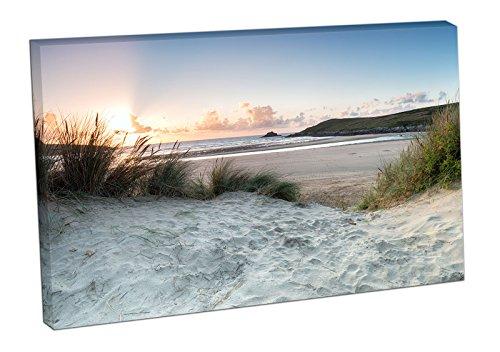 sunset-through-the-sand-dunes-at-crantock-beach-print-on-canvas-xt2550-colour-36x24-inch