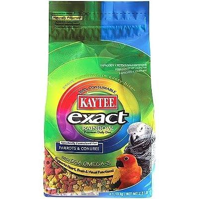 Kaytee Exact Rainbow - Complete Parrot Food by Kaytee Exact