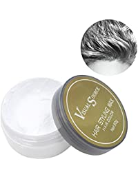 niceEshop(TM) Hair Color Wax Disposable Washable Hair Cream Dye for Men Women Party Hairstyle, Cosplay Outfit-White
