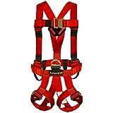Fusion Climb Fusion Climb Streak Racer ANSI Edition Full Body Zipline Harness 23kN M-L Red
