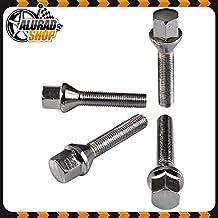 40mm Haskyy 10 Radschrauben Radbolzen Silber verzinkt Kegelbund Kegel M12x1,25 in verschiedenen Schaftl/ängen zur Auswahl