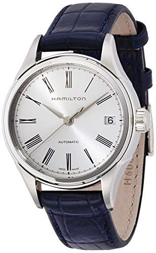 Hamilton Women's Analogue Automatic Watch with Leather Strap H39415654