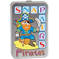 Cheatwell Games Pirate Snap and Pairs Memory Card Game