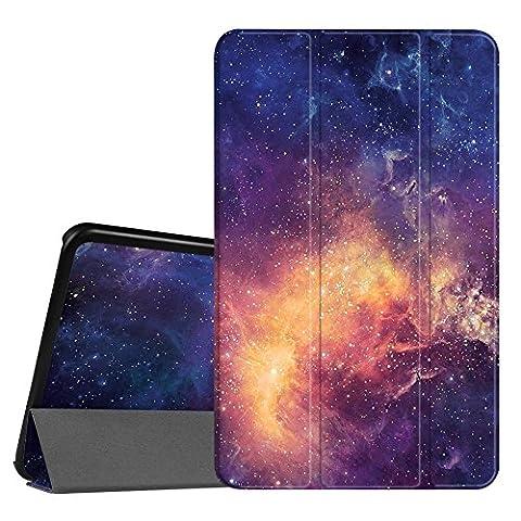 Fintie Samsung Galaxy Tab S2 8.0 Hülle Case - Ultra Schlank Superleicht Ständer Smart Shell Cover Schutzhülle Tasche mit Auto Schlaf / Wach Funktion für Samsung Galaxy Tab S2 8.0 T710 / T715 / T719 (8 Zoll) Tablet-PC, Die Galaxy