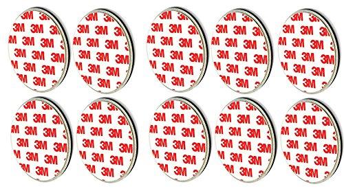 10 Stück 3M Premium Magnethalter Magnethalterung Magnetbefestigung für Rauchmelder jeden...