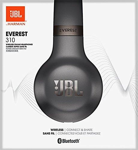 JBL Everest 310 Diadema Binaural Alámbrico/Inalámbrico Gris - Auriculares (Inalámbrico y Alámbrico, Diadema, Binaural, Supraaural, 10-22000 Hz, Gris)