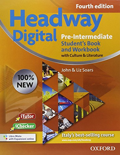 New headway digital. Pre-intermediate. Student's book-Workbook. With key. Per le Scuole superiori. Con CD-ROM. Con espansione online