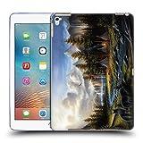 Head Case Designs Offizielle Chuck Black Wild Amerika Ladschaft Soft Gel Hülle für Apple iPad Pro 9.7