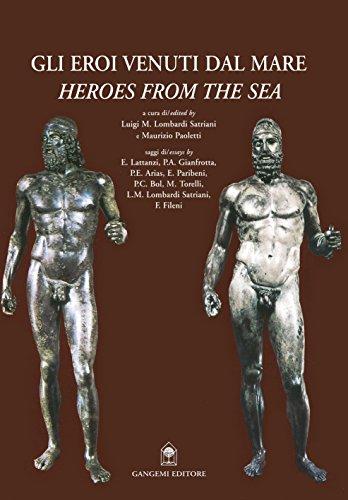 Gli eroi venuti dal mare. I bronzi di Riace. Ediz. italiana e inglese (Meridione) por Luigi M. Lombardi Satriani