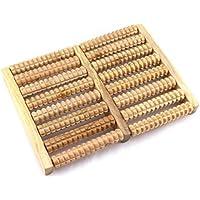 Comparador de precios GZD Pies Masajeador Pie Rueda de masaje De madera Fila de pies masaje Rodando el sistema de madera Masajeador Cómodo promover la circulación sanguínea - precios baratos