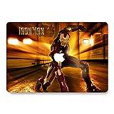 """AQYLQ MacBook Air 33cm Coque Rigide pour modèle A1369/A1466Toucher Doux Mat en Plastique avec revêtement en Caoutchouc Protection Coque–Spiderman New Macbook Pro 13"""" (A1706/1708) Iron Man 3"""