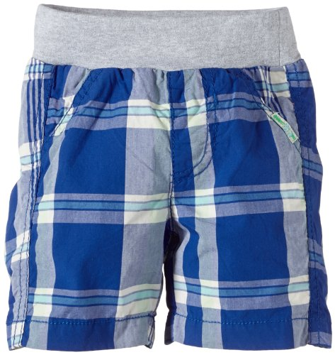 TOM TAILOR Kids Baby - Jungen Short Checked Bermuda/404, Einfarbig, Gr. 68, Blau (Shiny Royal) (Checked Bermuda)