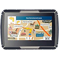 NavGear Motorrad Outdoor Navis: TourMate N4, Motorrad-, Kfz- & Outdoor-Navi mit West-Europa (Motorrad-Navi mit Bluetooth)
