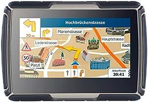 NavGear Fahrradnavi: TourMate N4, Motorrad-, Kfz- & Outdoor-Navi mit Deutschland (Motorradnavigationsgerät)